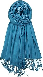 Achillea 竹纤维触感柔软丝滑披肩纯色围巾