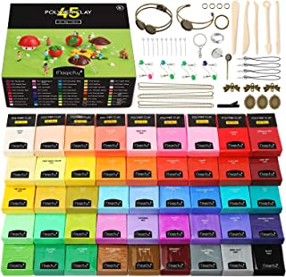 Polymer Clay Starter Kit Colours Blocks and Accessories