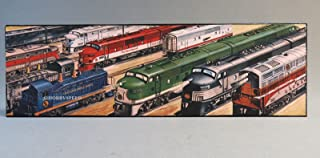 LIONEL DIESEL LOCOMOTIVES IRON WALL PLAQUE sign train metal picture 9-42062