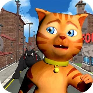 Cat Subway Run: Leo Cat vs Dog (Premium)