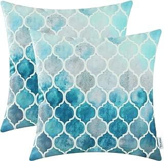 Best aqua blue throw pillows Reviews