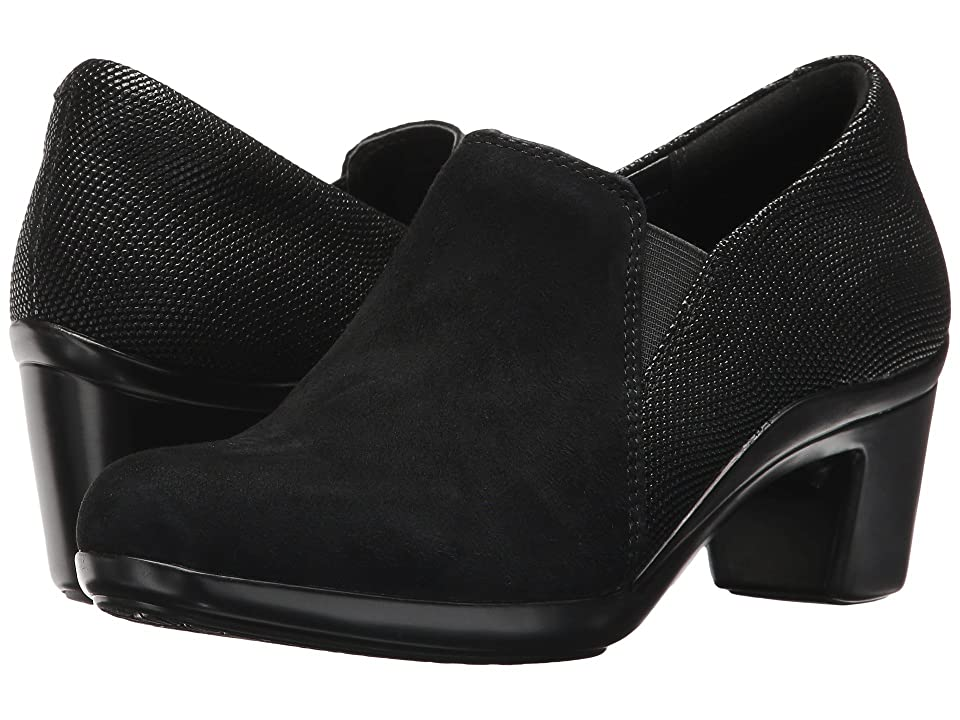 Aravon Lexee Twin Gore (Black Suede Multi) Women