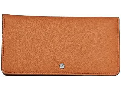 ECCO Jilin Tandem Large Wallet (Amber/Apricot) Wallet Handbags