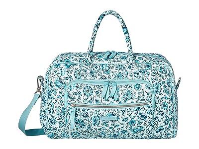 Vera Bradley Compact Weekender Travel Bag (Cloud Vine) Weekender/Overnight Luggage