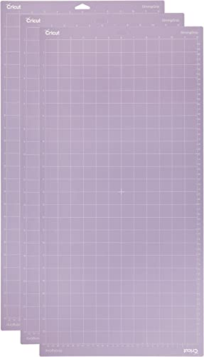"Cricut StrongGrip Adhesive Cutting Mat 12""x24"" - For Cricut Explore Air 2/Cricut Maker - 3 Pack"