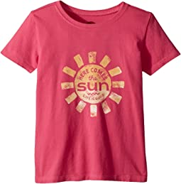 Life is Good Kids - Here Comes The Sun Crusher Tee (Toddler)