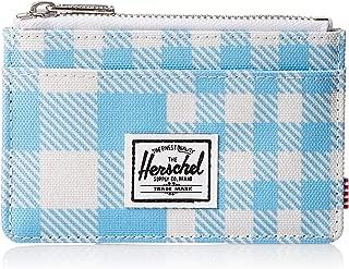 Herschel Unisex-Adult Oscar RFID Wallet, Gingham Alaskan Blue - 10397