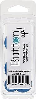 Button Up! Snack Pack Buttons 8/Pkg-Denim