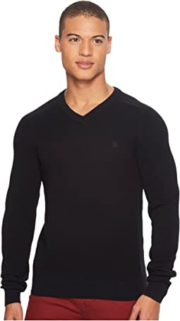 Original Penguin - V-Neck Honeycomb Pique Sweater