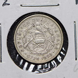 1952 GT Guatemala 1952 5 Centavos Quetzal animal 900717 DE PO-01