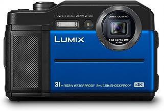 Panasonic Lumix DC-FT7EG-A - Cámara 4K acuática sumergible 20.4 MP (resistente y compacta, estabilizador, visor LVF, pantalla 3