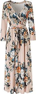 Women's Summer Dresses for Women Maxi Floral Dress