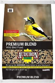 Audubon Park 13245 Premium Blend Wild Bird Food, 20-Pound