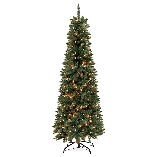 Tall Skinny Christmas Tree Decorating Ideas.Slim Pre Lit Christmas Trees Amazon Com