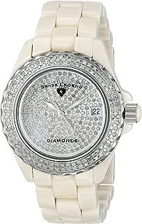Best swiss legend diamond ceramic watch Reviews