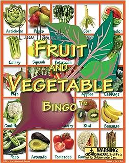 Lucy Hammett Games Fruit and Vegetable Bingo Game