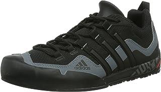 adidas, Terrex Swift Solo Climbing Shoes, Men's Shoes, Black/Black/Lead, 5 US
