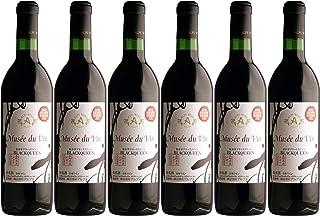 アルプス ミュゼドゥヴァン 松本平ブラッククイーン [ 赤ワイン フルボディ 日本 720ml ]×6本セット