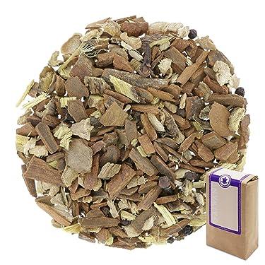 """Núm. 1414: Té de hierbas orgánico """"Masala dulce"""" - hojas sueltas ecológico - 100 g - GAIWAN® GERMANY - cassia, jengibre, regaliz, pimienta negro, clavel"""