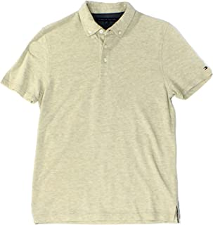 Tommy Hilfiger Men's Byron Pique Polo. Small. Sand