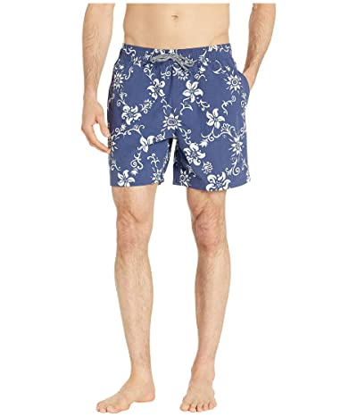 Reyn Spooner Summer Pareau Swim Trunks (Peacoat) Men