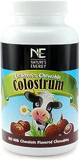 Nature's Energy | Childrens Colostrum Supplement (Milk Chocolate)