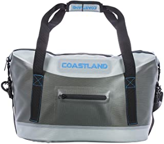 Coastland TPU Top Soft Cooler, Waterproof, Leak Proof, Puncture and Tear Resistant Zippered Ice Chest