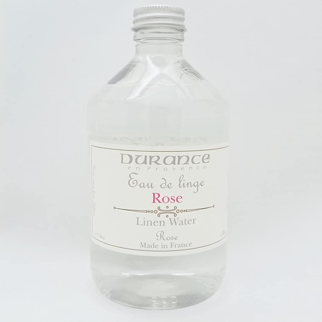 やろう液化するドットDURANCE(デュランス) リネンケアシリーズ リネンウォーター 500ml 「ローズ」 4994228006752