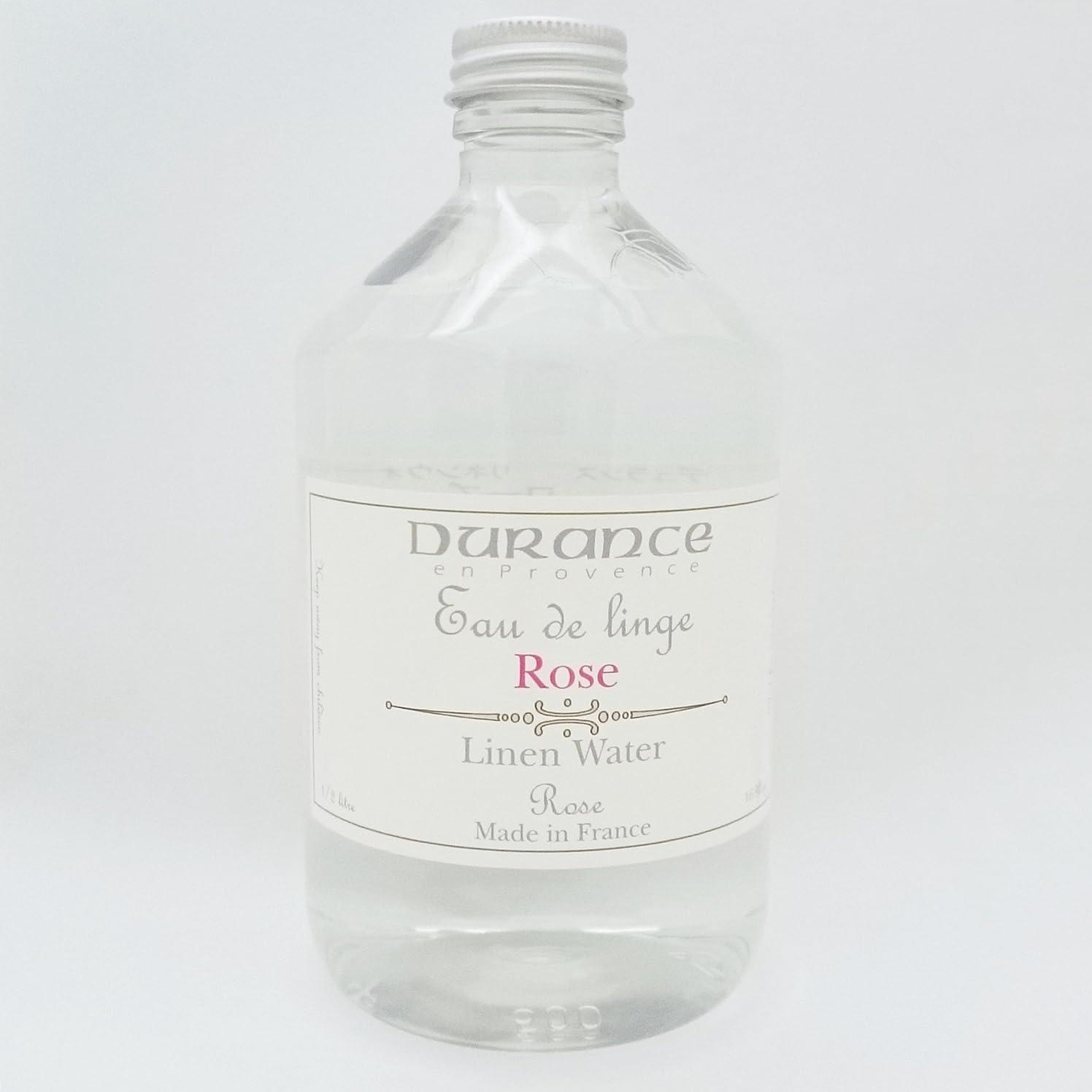 レイアウト磨かれた地雷原DURANCE(デュランス) リネンケアシリーズ リネンウォーター 500ml 「ローズ」 4994228006752