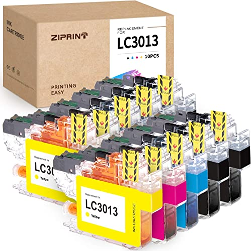 wholesale ZIPRINT Compatible Ink Cartridge Replacement for Brother LC3013 LC3011 for Brother MFC-J491DW MFC-J895DW MFC-J690DW MFC-J497DW Printer (4 online Black, 2 Cyan, 2 outlet online sale Magenta, 2 Yellow, 10-Pack) online sale