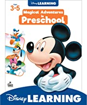 Disney Learning Magical Adventures in Preschool Workbook - 200+ Activities in Addition, Subtraction, Shapes, Letter Recogn...