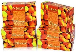 Vaadi herbals Perky Peach Soap, 75 grams (Pack of 6)