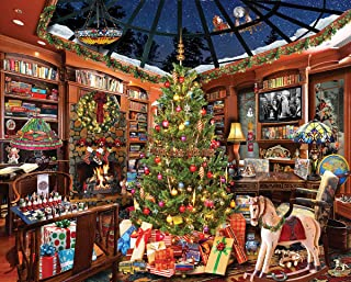 White Mountain Puzzles Christmas Seek & Find - 1000Piece Jigsaw Puzzle