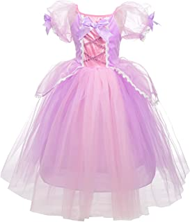 Dressy Daisy Princess Rapunzel Dress Up Costumes Halloween Party Fancy Dresses