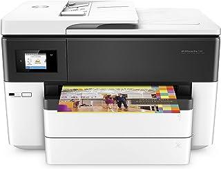 HP OfficeJet Pro 7740 G5J38A, Stampante Multifunzione per Grandi Formati A3, Stampa, Scansiona, Fotocopiatrice, Fax, ADF, ...