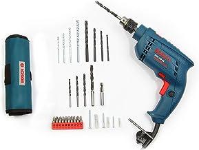Bosch GSB 450-Watt Impact Drill Set (Blue, 100-Pieces)