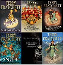 Terry pratchett Discworld novels Series 8 :6 books collection set