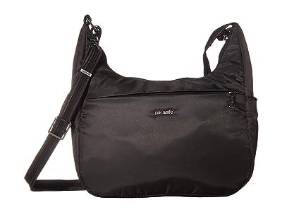 Pacsafe Cruise All Day Crossbody (Black) Handbags