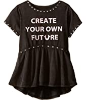 True Religion Kids - Studded Future Tee Shirt (Toddler/Little Kids)