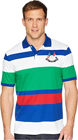 CP-93 Yarn-Dye Striped Polo