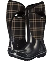 Bogs Plimsoll Plaid Tall