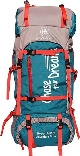 Hyper Adam 65 L Rucksack Hiking Backpack Trekking Bag Camping Bag Travel Backpack Outdoor Sport Rucksack Bag 65 Ltrs ...