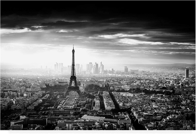 Trademark Fine Art Paris Eiffel in The Dark by Jaco Marx, 12x19