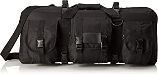 """VISM by NcStar CVCPD2962B-28 Deluxe Pistol and Subgun Gun Case with 3 Accessory Pockets, Black, 28"""" L x 13"""" H"""