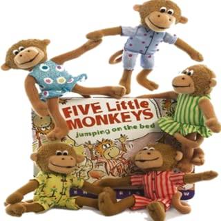 Kids Nursery Rhyme Five Little Monkey