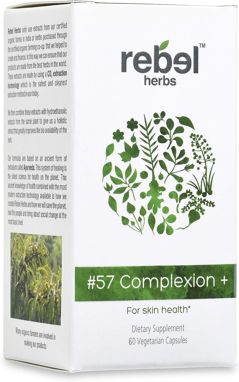 Rebel Herbs #57 Virginia Beach Mall Time sale Complexion+ Capsules