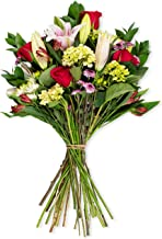 Benchmark Bouquets Blissful Blossoms Pink (Vase not Included) - Fresh Flowers, Overnight Shipping & Delivery, Farm Fresh Roses, Flower Bouquet, Pink Flowers