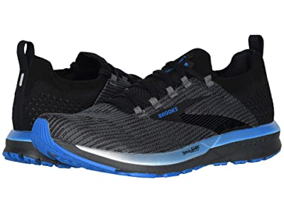 Brooks Ricochet 2 (Black/Grey/Blue) Men