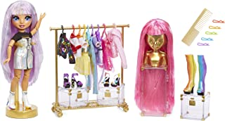 Rainbow Surprise Rainbow High Fashion Studio – Exclusive Doll with Rainbow of Fashions (Clothes and Accessories) and 2 Sparkly Wigs to Create 300+ Looks