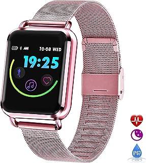 Grist CC Smartwatch Pulsera Deportiva Impermeable IP67 Reloj Inteligente con Pulsómetro Podómetro Fitness Tracker